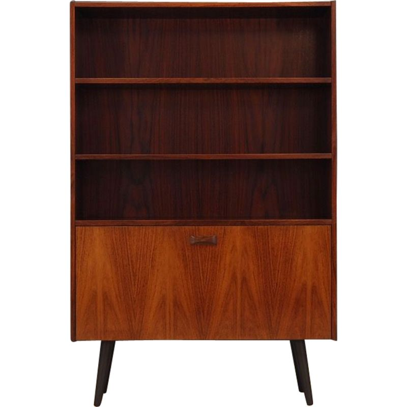Vintage bookcase in rosewood, 1960s 1970s