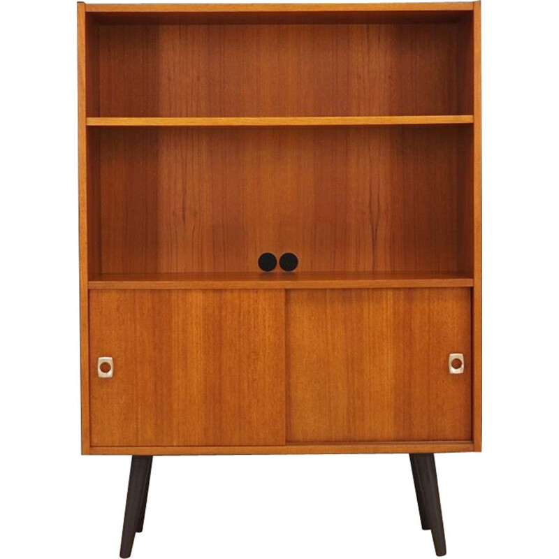 vintage bookcase in teak 1960 1970