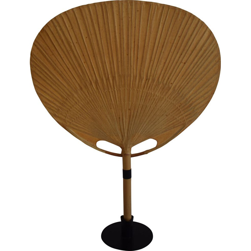 Vintage Uchiwa lamp by Ingo Maurer for Design M, 1970s