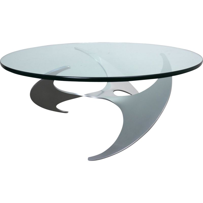 Vintage coffee table K9 by Knut Hesterberg for Ronald Schmitt, Germany, 1960s