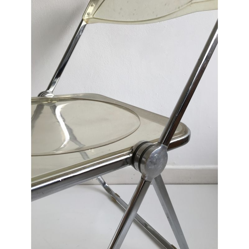 Vintage Lucite Chair By Giancarlo