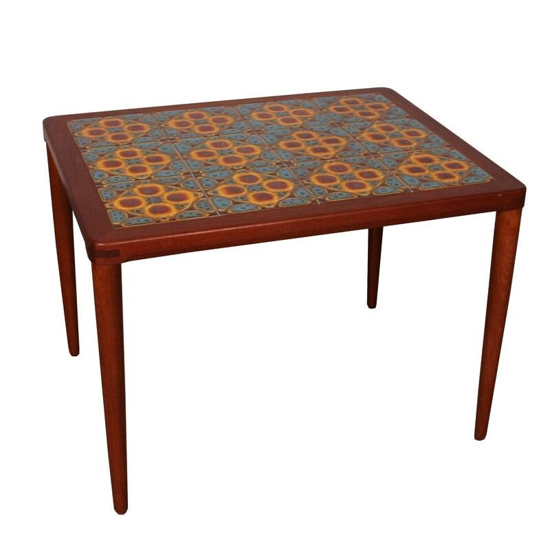 Scandinavian vintage coffee table by Henry Walter Klein, 1960