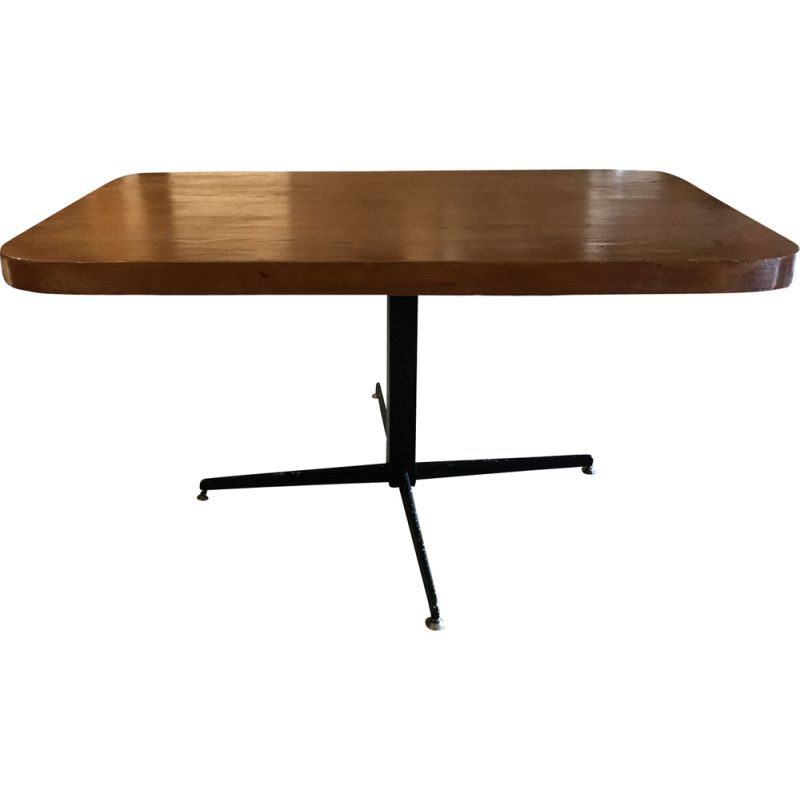 Superb Vintage Les Arcs 1600 Coffee Table By Charlotte Perriand Ocoug Best Dining Table And Chair Ideas Images Ocougorg