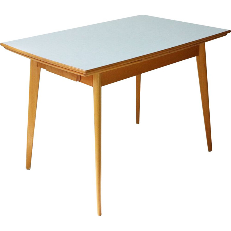 Vintage dining table in formica, Germany 1950s