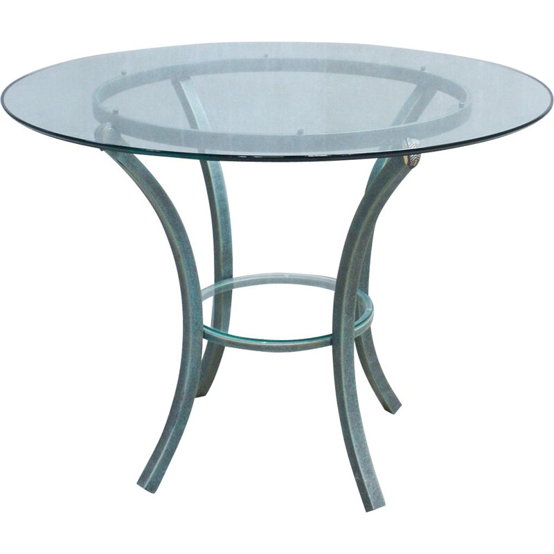 Vintage round dining table by Pierre Vandel, 1970s