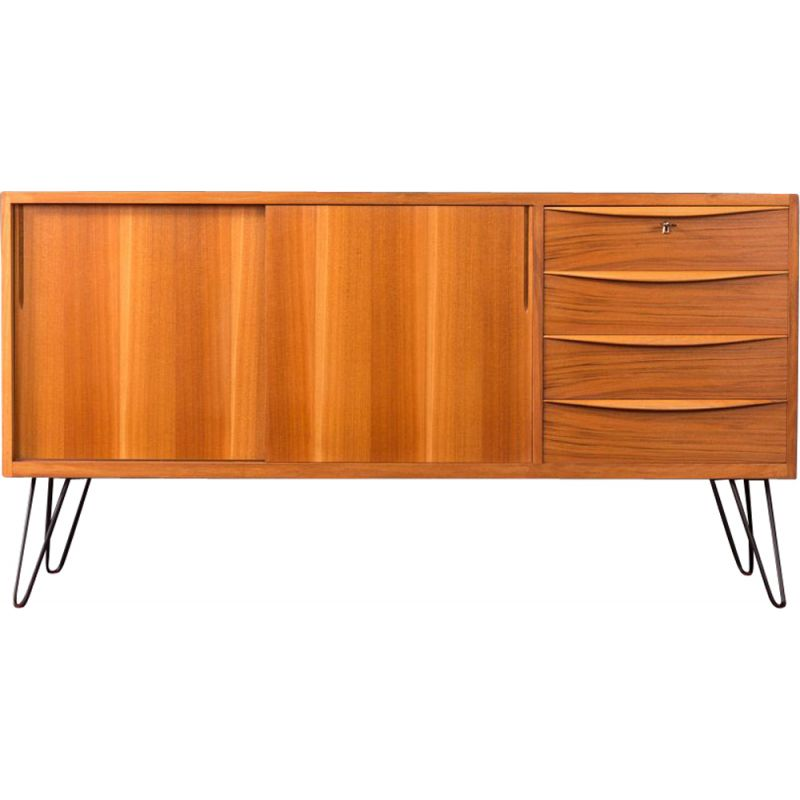 Vintage German sideboard in walnut