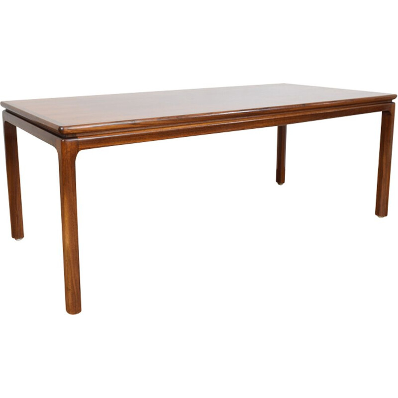 Vintage Danish coffee table in rosewood