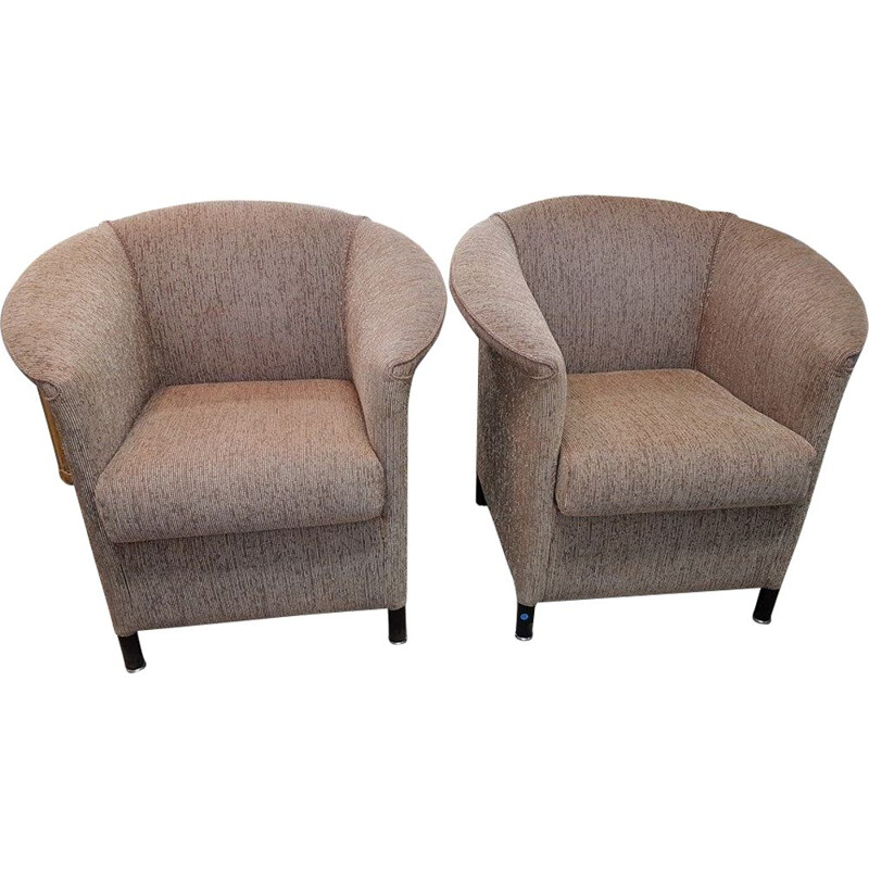 "Pair of vintage armchairs ""Aura"" by Paolo Piva, 1990s"