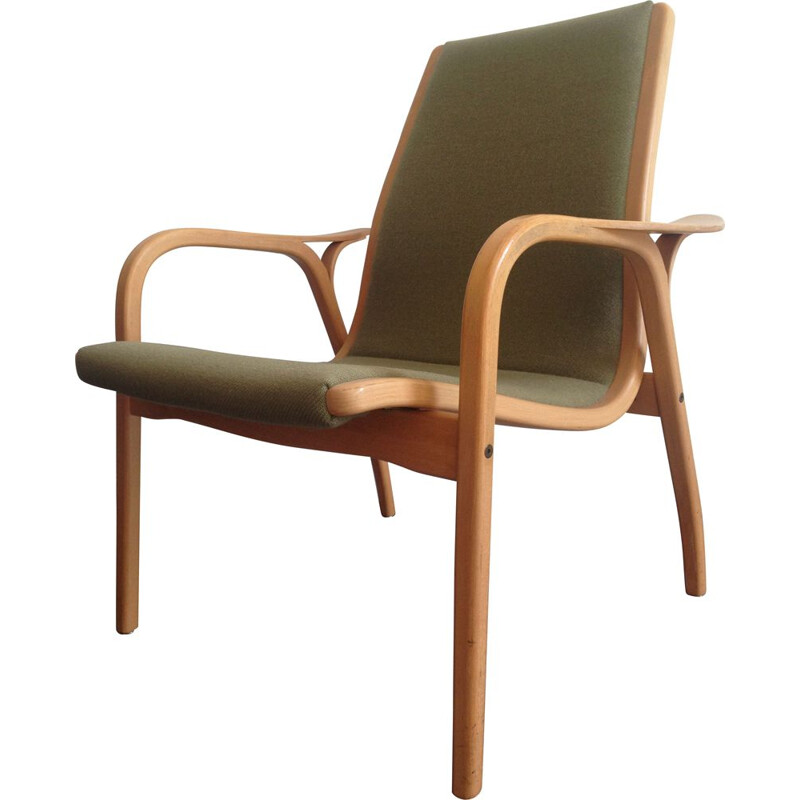 Vintage laminett lounge chair by Yngve Ekström for Swedese