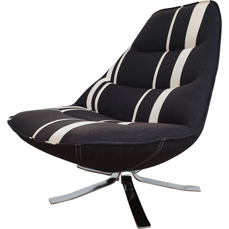 Danish vintage lounge chair from Madsen and Schubell, model MS 68, 1990s