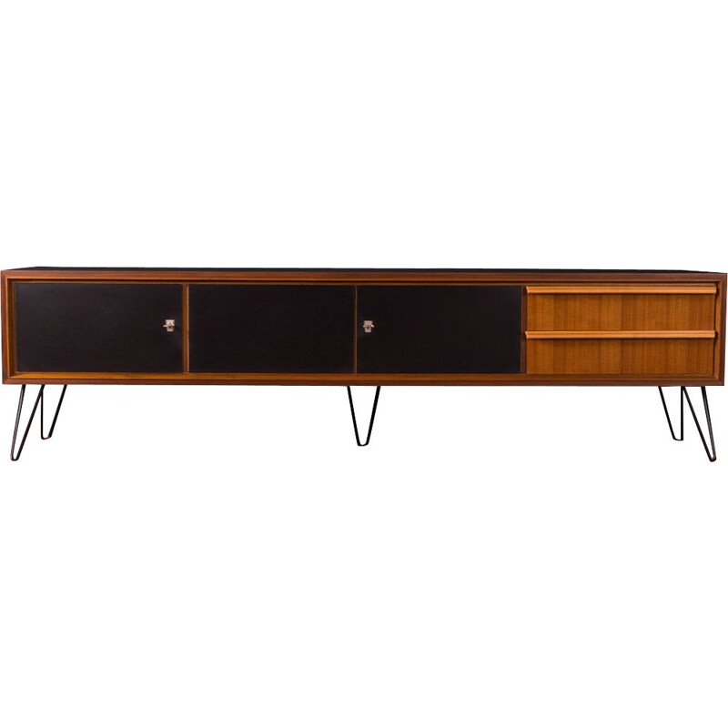 Walnut vintage sideboard, Germany, 1950s
