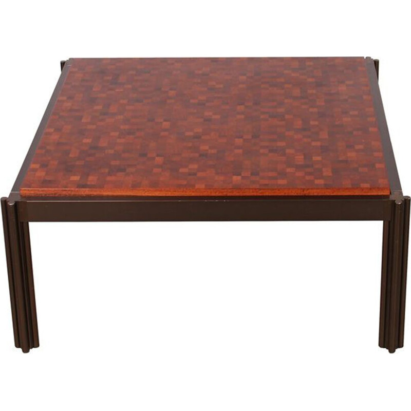 Vintage scandinavian coffee table by Lindum and Middelboe, 1970
