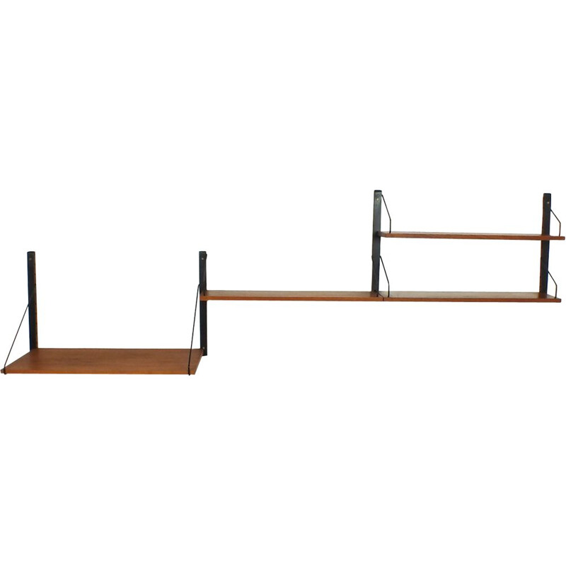 Vintage shelves Royal System by Poul Cadovius, Denmark 1948