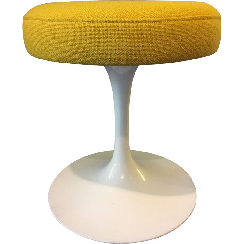 Vintage Tulip stool by Eero Saarinen for Knoll