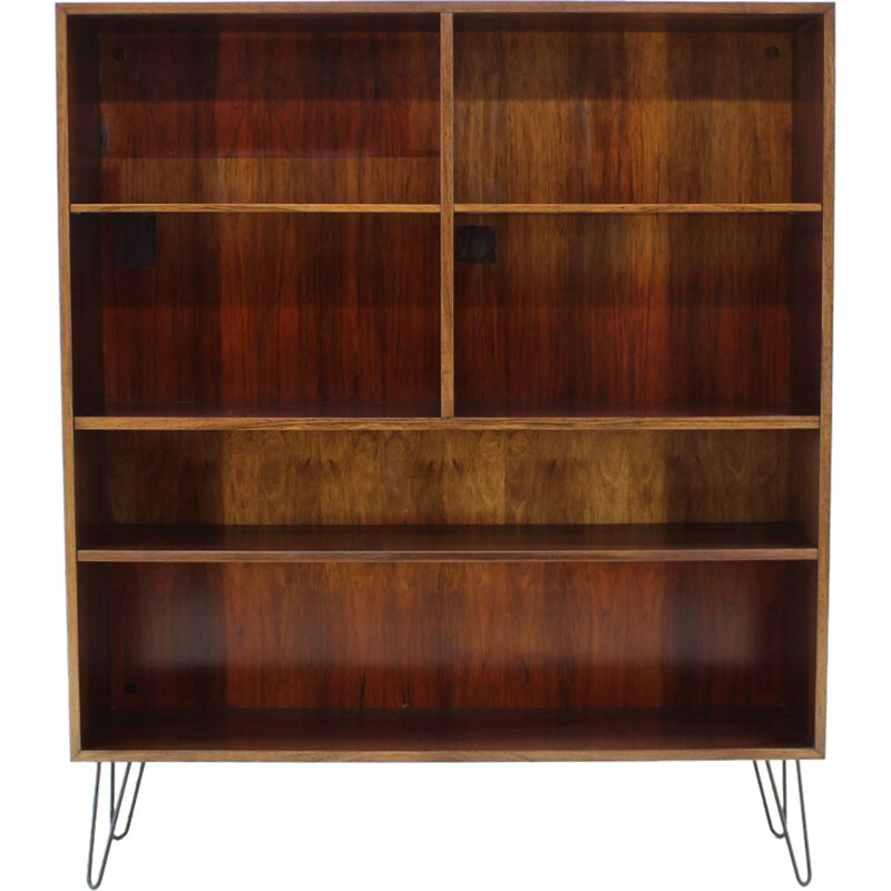 Vintage Bookcase in rosewwood by Omann Jun 1960s