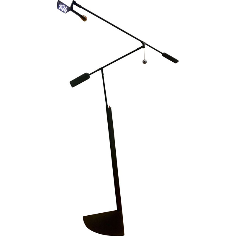 Halley floor lamp by Richard Sapper for Lucesco