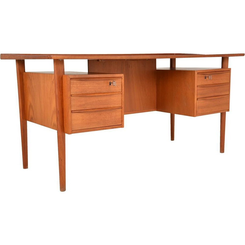 Vintage desk by Peter Lovig-Nielsen for Dansk Mobel