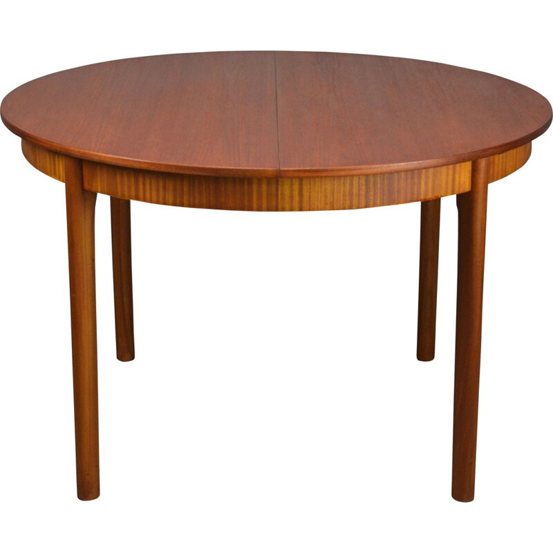 Vintage round dinning table by Mcintosh, 1970s