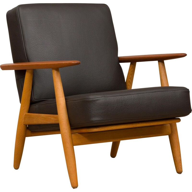 "Vintage ""GE 240"" armchair by Hans Wegner for Getama, 1955"