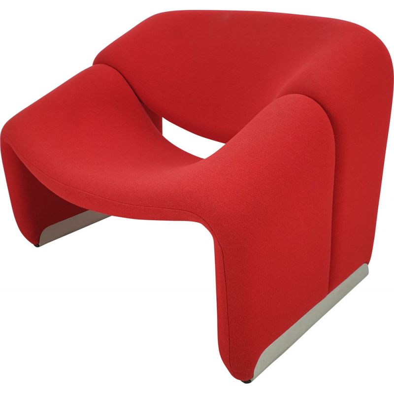 Vintage Groovy Chair F598 by Pierre Paulin for Artifort, 1980s