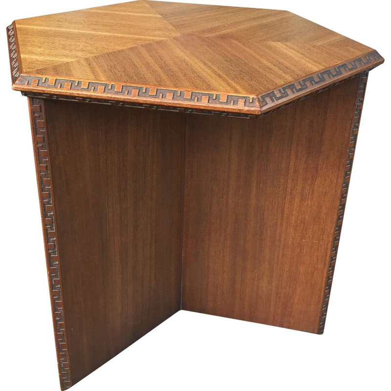 Frank LLOYD WRIGHT - Table d'appoint, 1950
