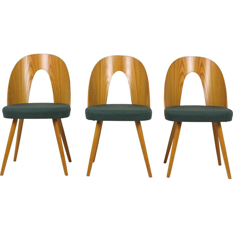 Vintage set of 3 Dining Chairs by Antonin Suman for Mier, 1966