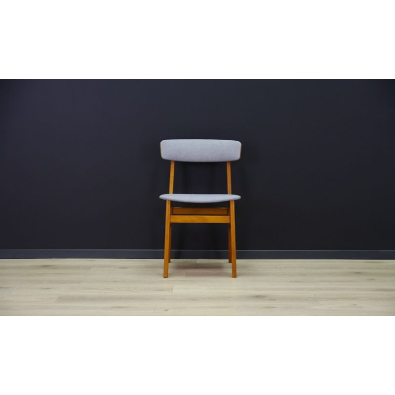 Admirable Set Of 2 Vintage Beech Wood Chairs Denmark 1960 70S Pdpeps Interior Chair Design Pdpepsorg