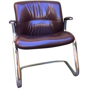 """Vintage leather chair """"Steelcase"""" , 1970s"""