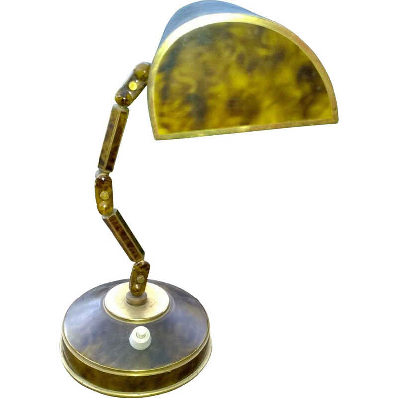 Vintage articulated lamp by GB Paris, 1930s