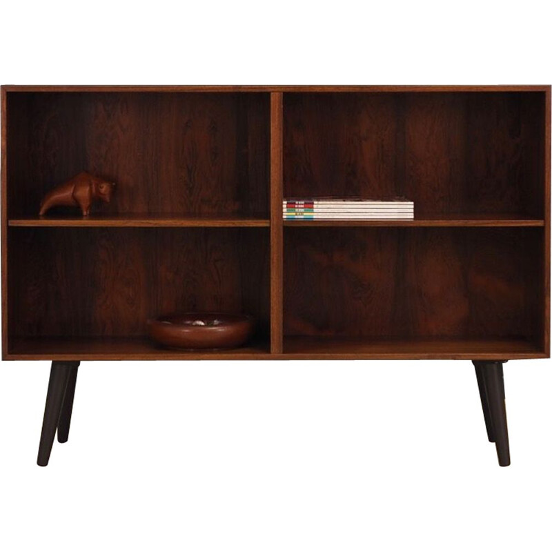 Vintage bookcase in rosewood by Omann Jun, 1960-70s