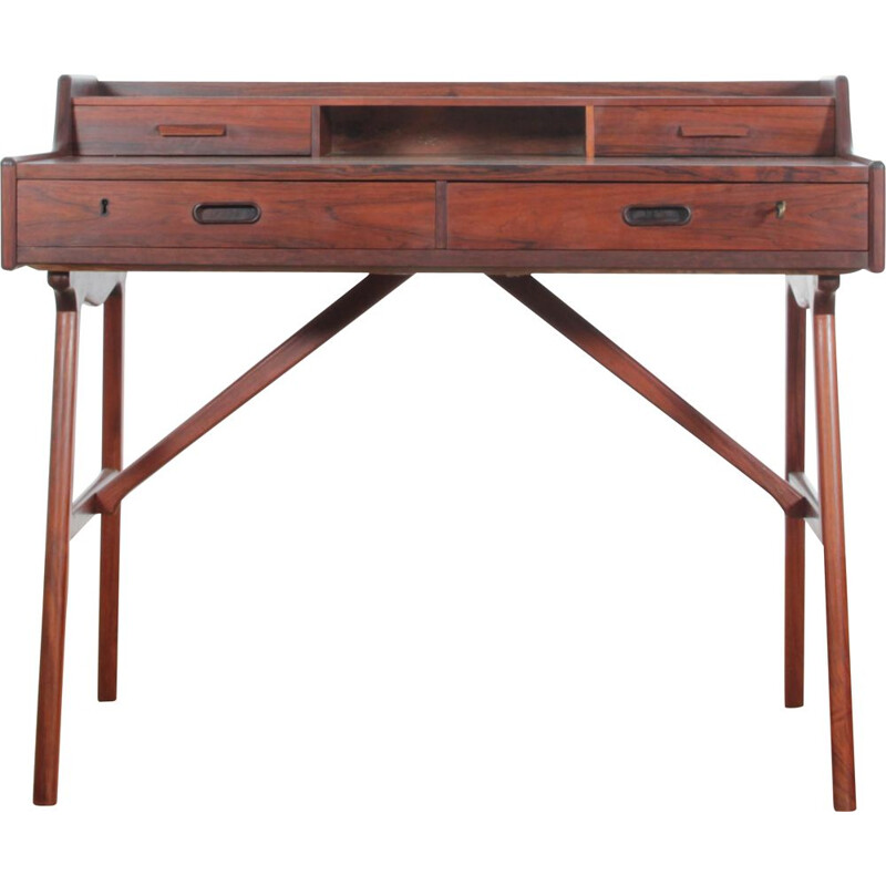 Scandinavian vintage desk in rosewood model 64, 1960s