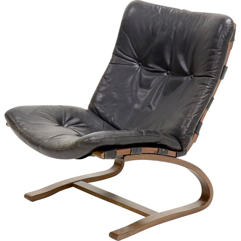 Vintage Siesta lounge chair by Ingmar Relling for Westnofa 1960s