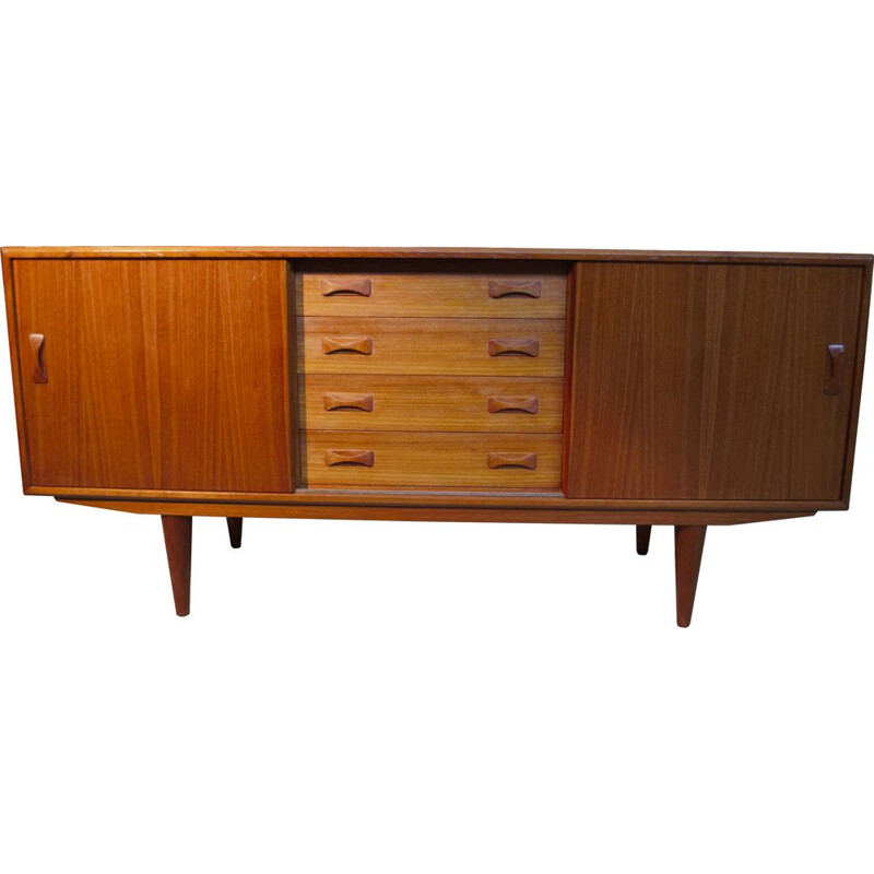 Vintage Danish sideboard in teak by Clausen & Son