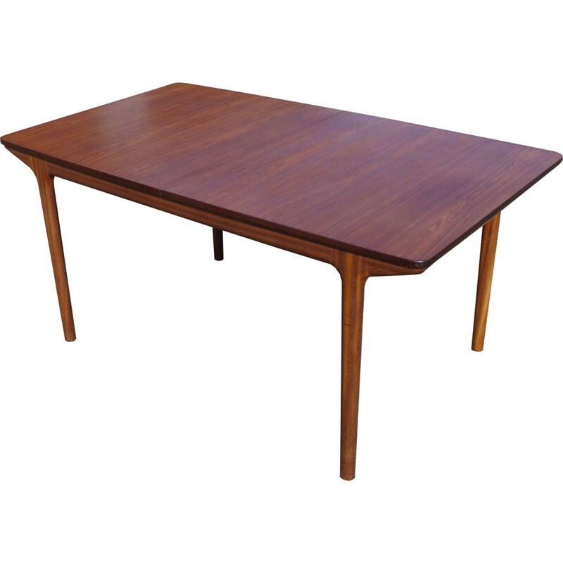 Vintage Dining Table in teak by Tom Robertson for McIntosh, 1960s