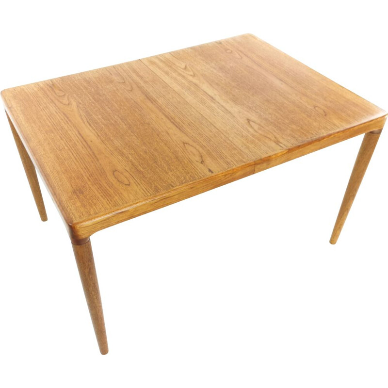 Vintage Danish Dining Table in teak By H.W Klein for Bramin