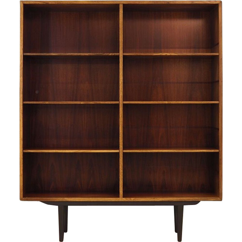 Vintage rosewood bookcase by Omann Jun, 1960-70
