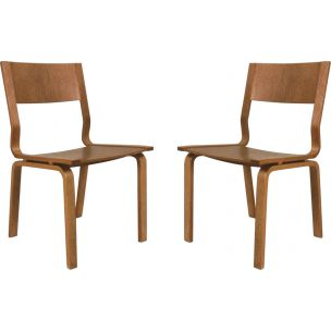 Set of 2 vintage Saint Catherines chairs by Arne Jacobsen
