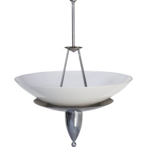 Vintage hanging lamp, Giso 2110 P5 for Gispen, 1930s