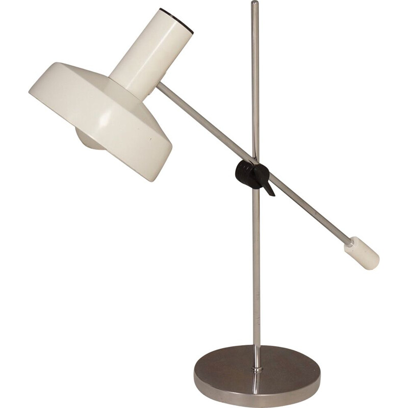 Vintage Desk Lamp by J. Hoogervorst for Anvia, 1960s
