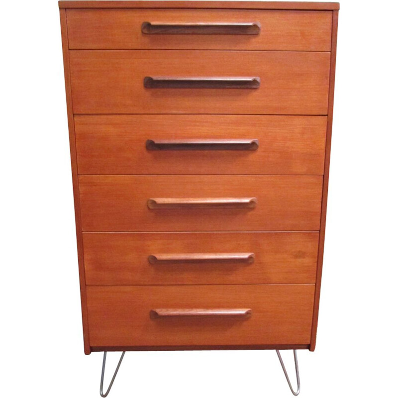 Vintage teak chest of drawers by G Plan, 1960s