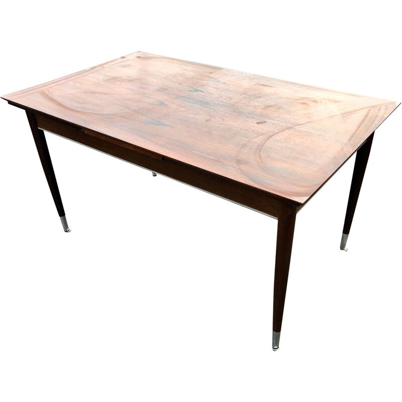 Vintage extendible table made of rosewood 1970