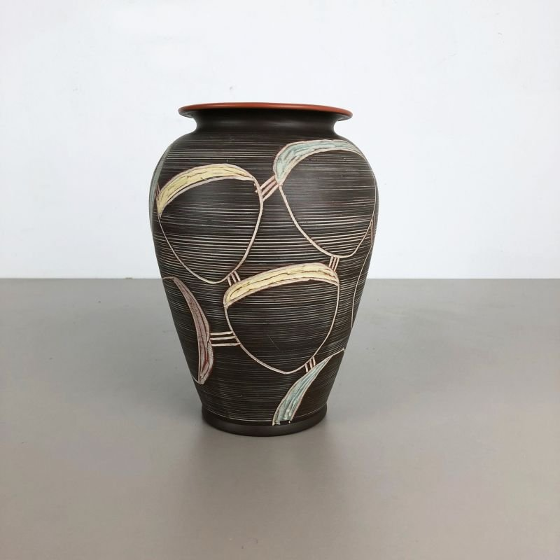 Vintage abstract vase