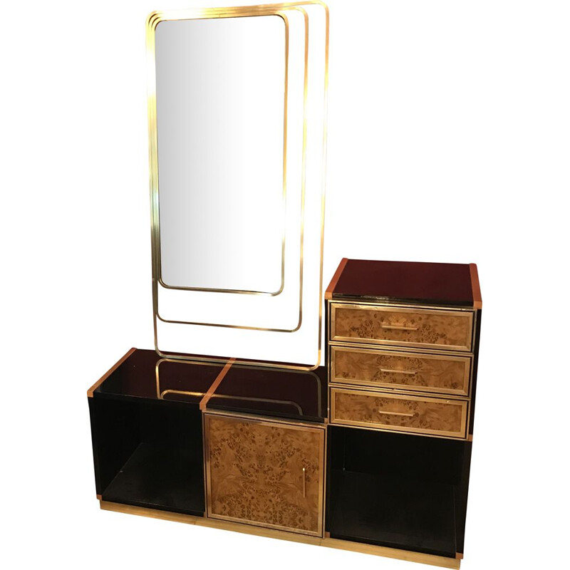 Vintage dressing table by Willy Rizzo 1970s