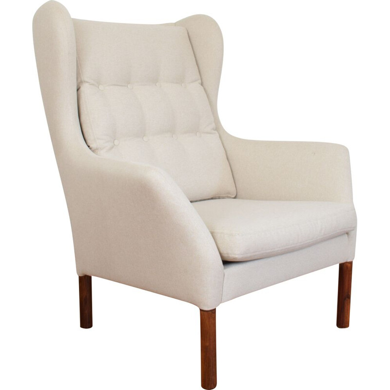Vintage Danish Armchair by Wingback, 1960s