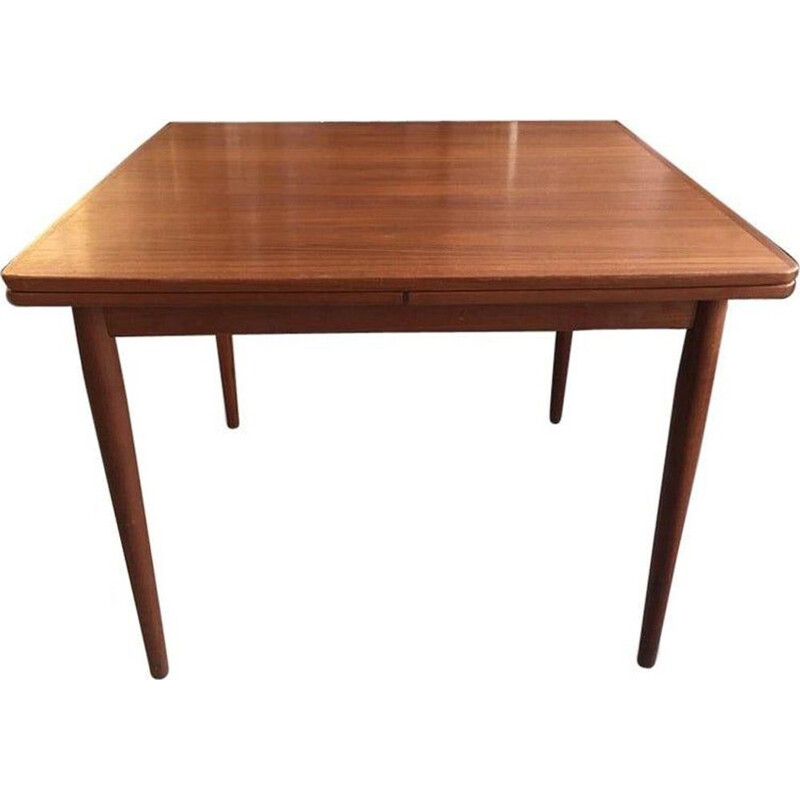 Vintage teak extension dining table by Arne Vodder Denmark 1960