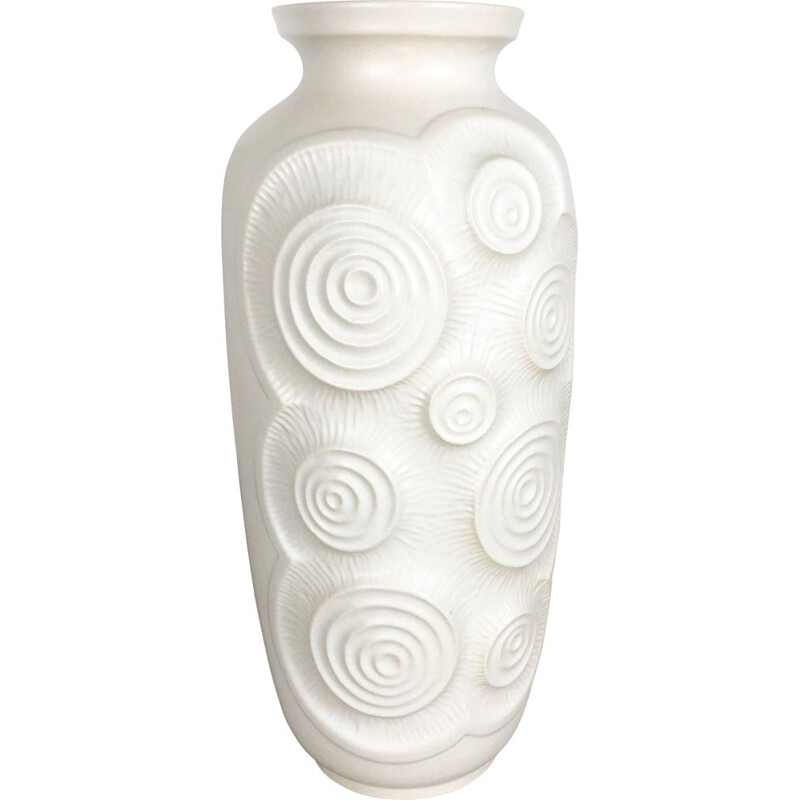 Vintage Floor Vase Made by Bay Ceramics, Germany, 1960s