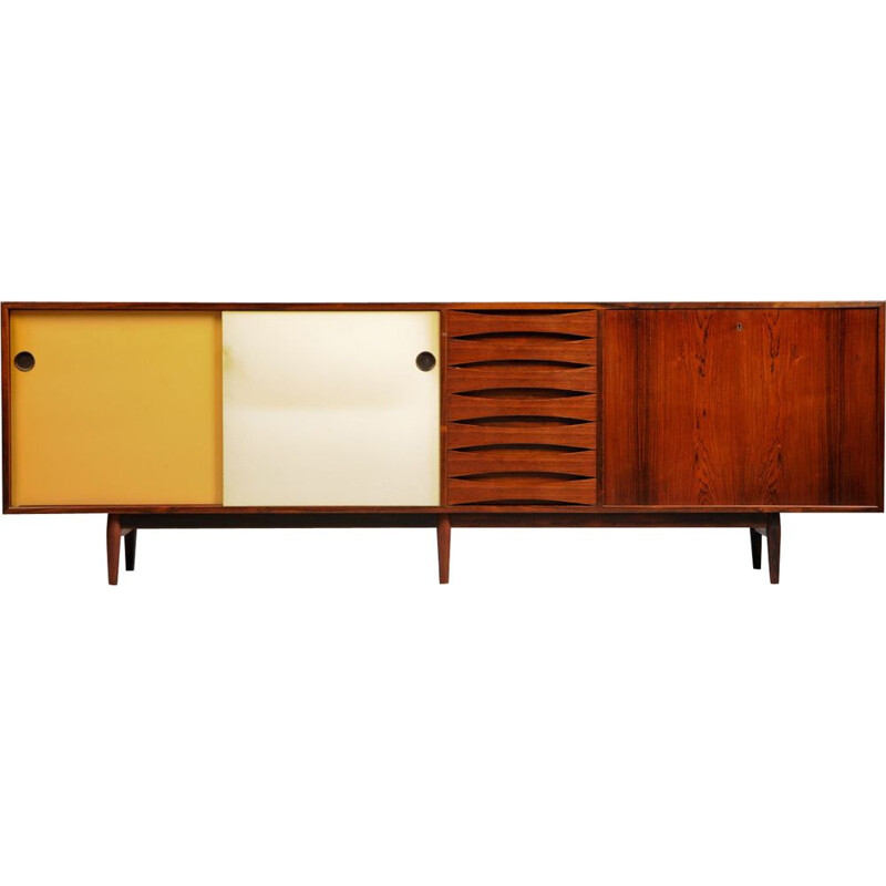 Vintage rosewood sideboard by Sibast Furniture, Arne Vodder, 1959