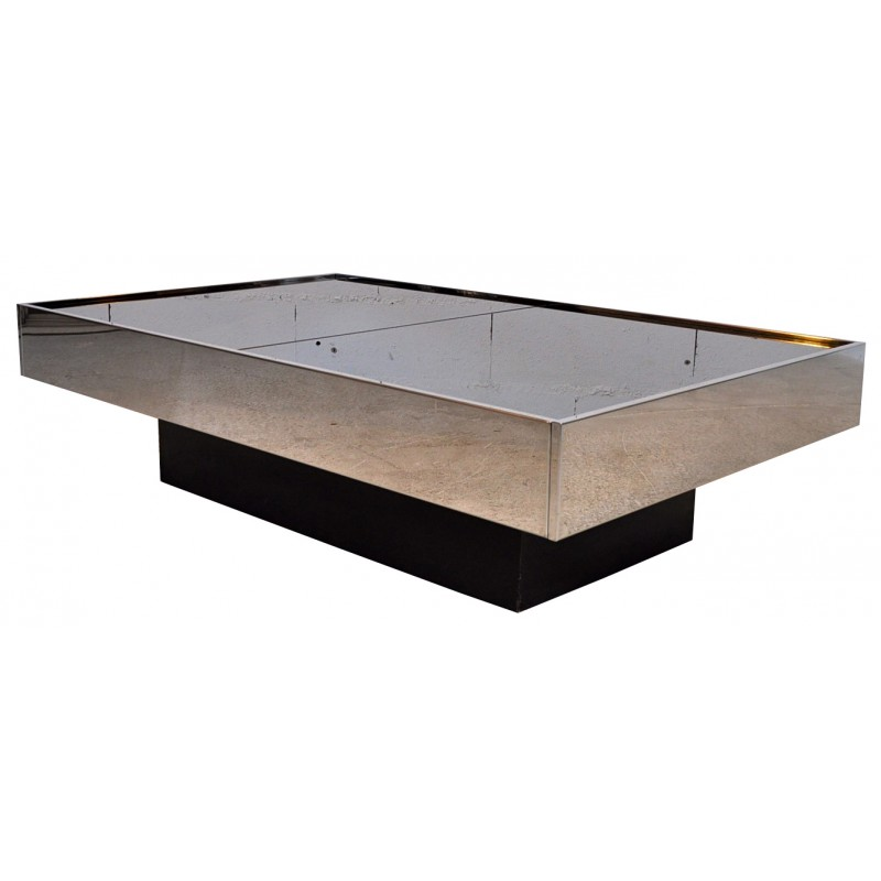 Coffee Table Bar Willy Rizzo 1970s Design Market