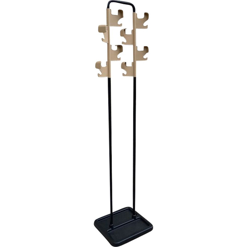 Vintage coat rack by Jean Pierre Vitrac, Manade collection, 1970s