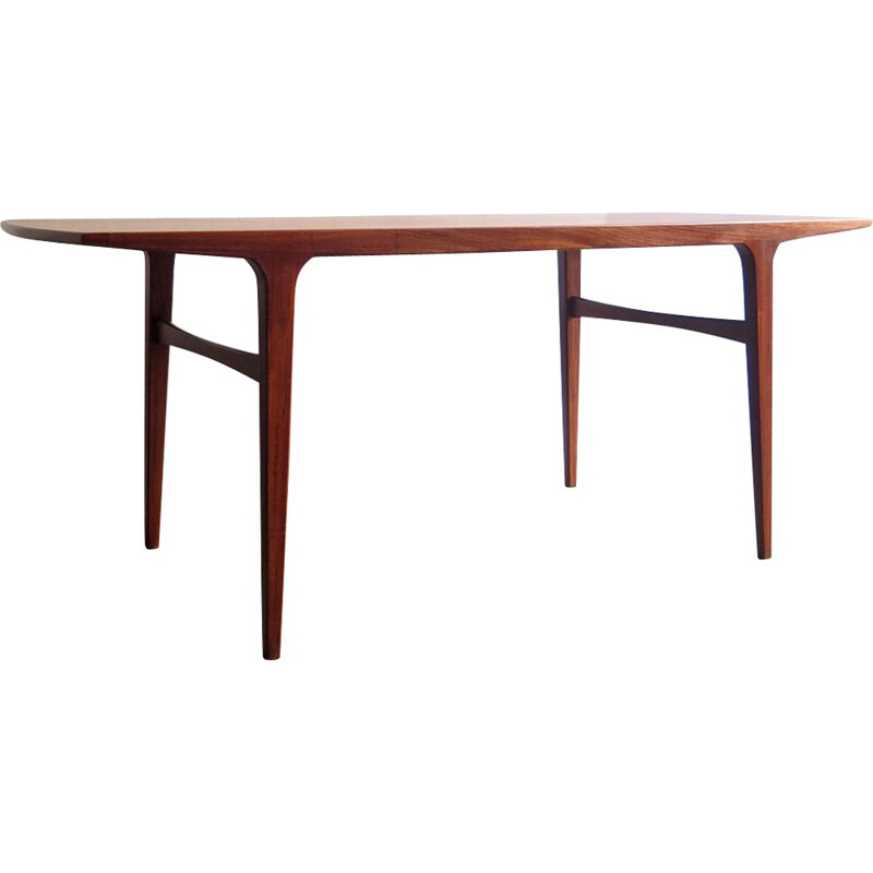 Vintage Danish coffee table in teak, 1960s